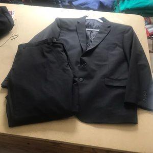 Calvin Klein Gray Suit
